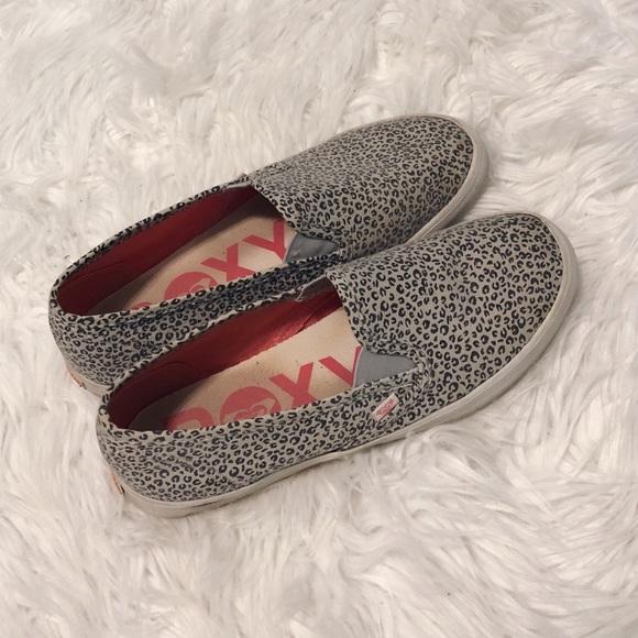 Roxy Shoes | Roxy Leopard Print Slip